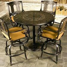 high table patio set tall patio table and chairs kitchen picturesque patio high table and