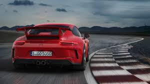 porsche gt3 991 2018 porsche 911 gt3 tramples 991 gt3 rs in all out track