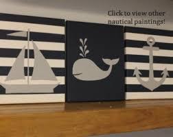 nautical nursery wall decor baby boy nautical 8x10