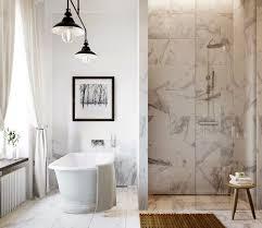Carrara Marble Tile White Bathroom Design Ideas Modern Bathroom - Carrara marble bathroom designs