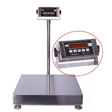 benchtop scale with led display stainless steel robust ps