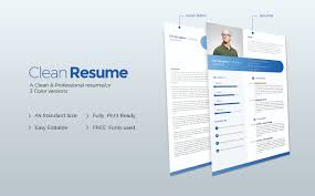 Resume Web Templates Christopher J Powell Clean Resume Template 64923