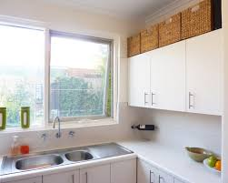 No Upper Kitchen Cabinets Upper Kitchen Cabinet Ideas Inspiration 15 Design Ideas For