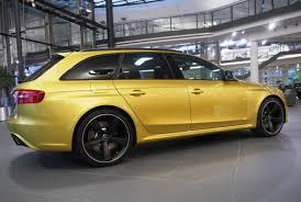 audi rs4 avant with austin yellow paintjob spotted it u0027s a bmw m4