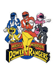 mighty morphin power rangers sticker hot topic mighty morphin power rangers sticker hi res loading zoom