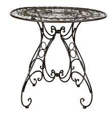 Wrought Iron Bistro Table Bright Event Rentals Wrought Iron Bistro Table 31 X 29