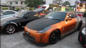 nissan 350z curb weight nissan fairlady 350z first ever sport cars show in mandalay 2013