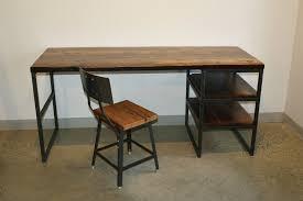 live edge computer desk the industrial desk lush woodcraft