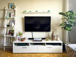 apartment update media console decor katie u0027s bliss