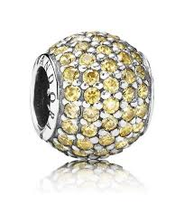 s day charms pandora golden pave charm a gift for s day a gift