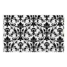 Damask Bath Rug Bath Mat Your Choice Of Damask Color Swirled Peas