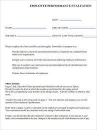 sample employee evaluation form hitecauto us