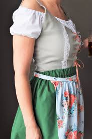 swiss miss bavarian oktoberfest costume beer server german