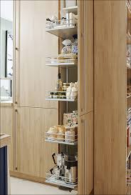 Kitchen Cabinets Tall Kitchen Sliding Storage Shelves Budget Kitchen Cabinets Pull Out