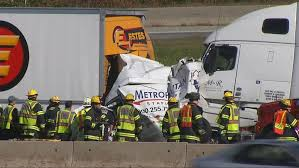crash between tractor trailers kills two people on i 195 wjar