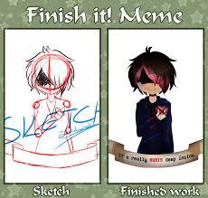 Finish It Meme - finish it meme by emselada on deviantart