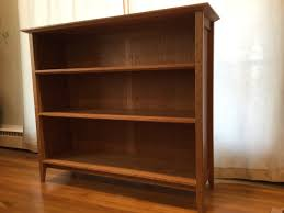 cherry bookcase u2013 out of the woodwork