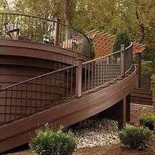 Outdoor Metal Handrails Shop Metal Deck Railing Westbury Fortress Deckorators And