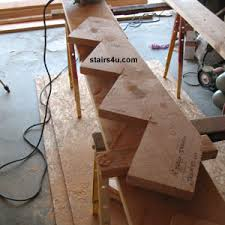 cut stringer free help to build stair instructions