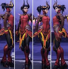halloween mercy background mercy devil skin google search overwatch pinterest devil