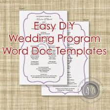 one page wedding program template emejing diy wedding program templates images styles ideas 2018