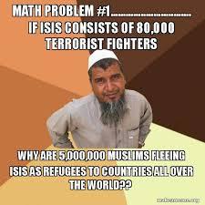 Meme Math Problem - math problem 1 if isis consists