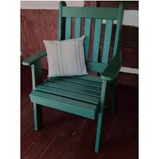 Recycled Plastic Patio Furniture Polywood Nautical Recycled Plastic Highback Patio Chair Hayneedle