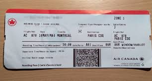 reserver siege air canada avis du vol air canada montreal en affaires