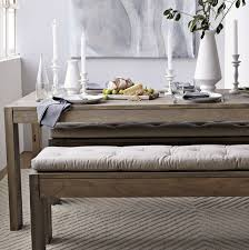 dining table bench cushion table designs