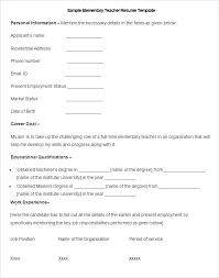 sample cv for teacher job resume for teacher job fresher resume for fresher teacher job