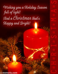 season of light free business card