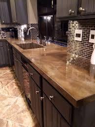 tile kitchen countertops ideas 39 minimalist concrete kitchen countertop ideas digsdigs