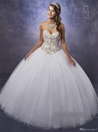quinceanera dresses white white quinceanera dresses 2017 s with gold embellished