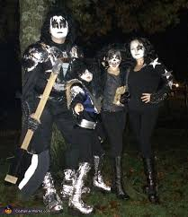 Halloween Costumes Kiss Kiss Band Costume
