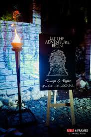 this couple had a u0027game of thrones u0027 themed sangeet u0026 it u0027s as grand