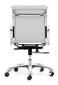 amazon com zuo modern lider plus office chair white kitchen