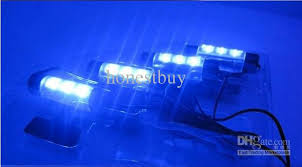 Led Light For Car Interior 2018 Car Interior Blue Led Foot Well Neon Flash Lights Tube Corner