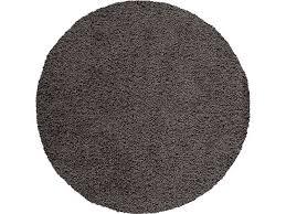 conforama tapis chambre tapis rond d 120 cm shaggy coloris noir vente de tapis moyenne et