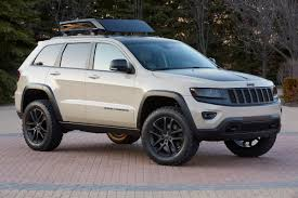 jeep concept vehicles jeep grand cherokee concept puts on its ecodiesel trail warrior