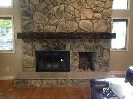 reclaimed wood fireplace mantel ideafarmhouses u0026 fireplaces
