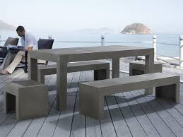 Concrete Patio Tables And Benches Wonderful Concrete Patio Table Concrete Patio Table Ideas
