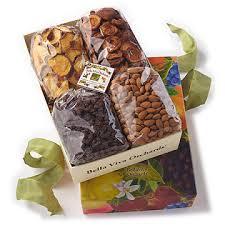 organic fruit basket california organic gift basket 3 lb organic dried fruit nuts