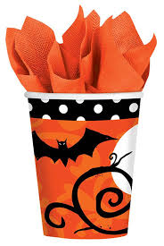 halloween stuff on black background halloween party paper cups and plastic cups halloween wikii