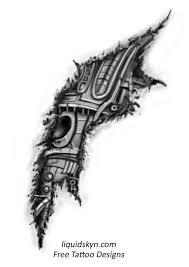 biomechanical tattoo images u0026 designs