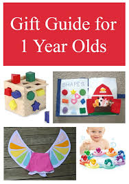 gift guide for 1 year olds diy