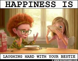 Laughing Hard Meme - happiness is laughing hard with your bestie