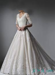 h1493 elegant color cap sleeved illusion lace back wedding