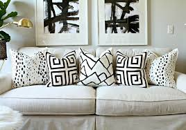 Couch Pillow Slipcovers Painted Pillow Diy Popsugar Home