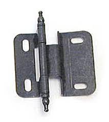 3 8 inset cabinet hinges amerock amerock 3 8 inset half wrap free swinging minaret tip