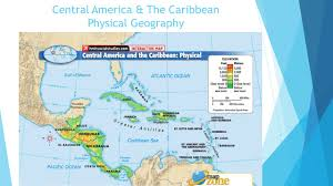 Central America And Caribbean Map by Pre Ap Geography Chapter 7 U00268 Mexico Central America U0026 The